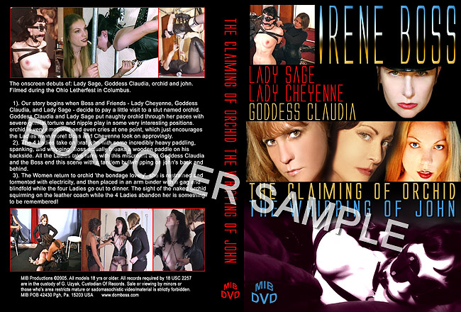 3 scenes with 4 beautiful Mistresses, a female slave, and a male masochist.